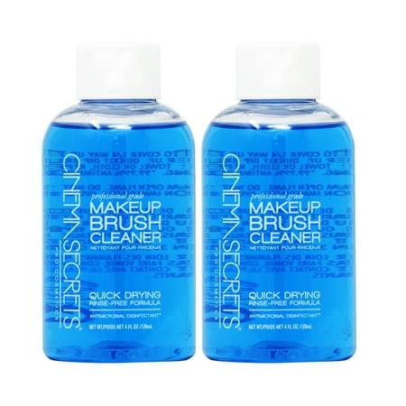 Cinema Secrets Makeup Brush Cleaner 4oz (Pack of 2)](Cinema Secret)