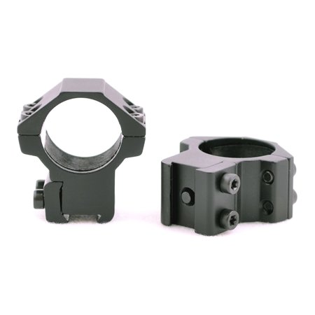 Hammers 1inch Medium Height Scope Rings with Stop Pin for High Power Magnum Air