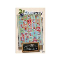 Blueberry Backroads Betsy's Blankie Ptrn