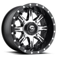 Fuel Nutz 14x7 ATV/UTV Wheel - Matte Black (4/156) 4+3 [D5411470A544]