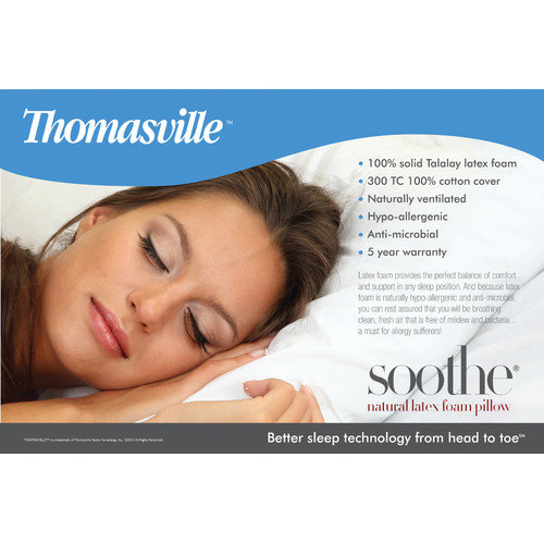 Eco-Lux Thomasville Natural Flex Latex Pillow