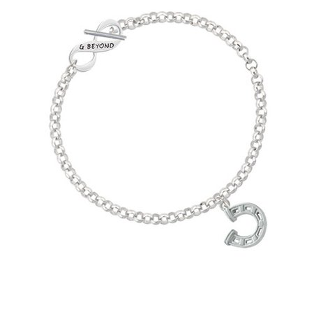 (Horseshoe with Side Loop & Beyond Infinity Toggle Chain Bracelet)