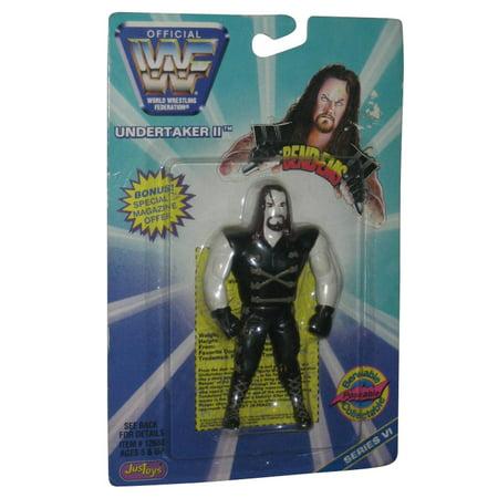 WWE Bendy Bendems Undertaker II Series IV Just Toys Action - Undertaker Toys