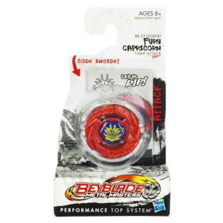 Beyblade Metal Masters Fury Capricorn Booster Pack (Beyblade Metal Fury Legendary Bladers 3 Pack)