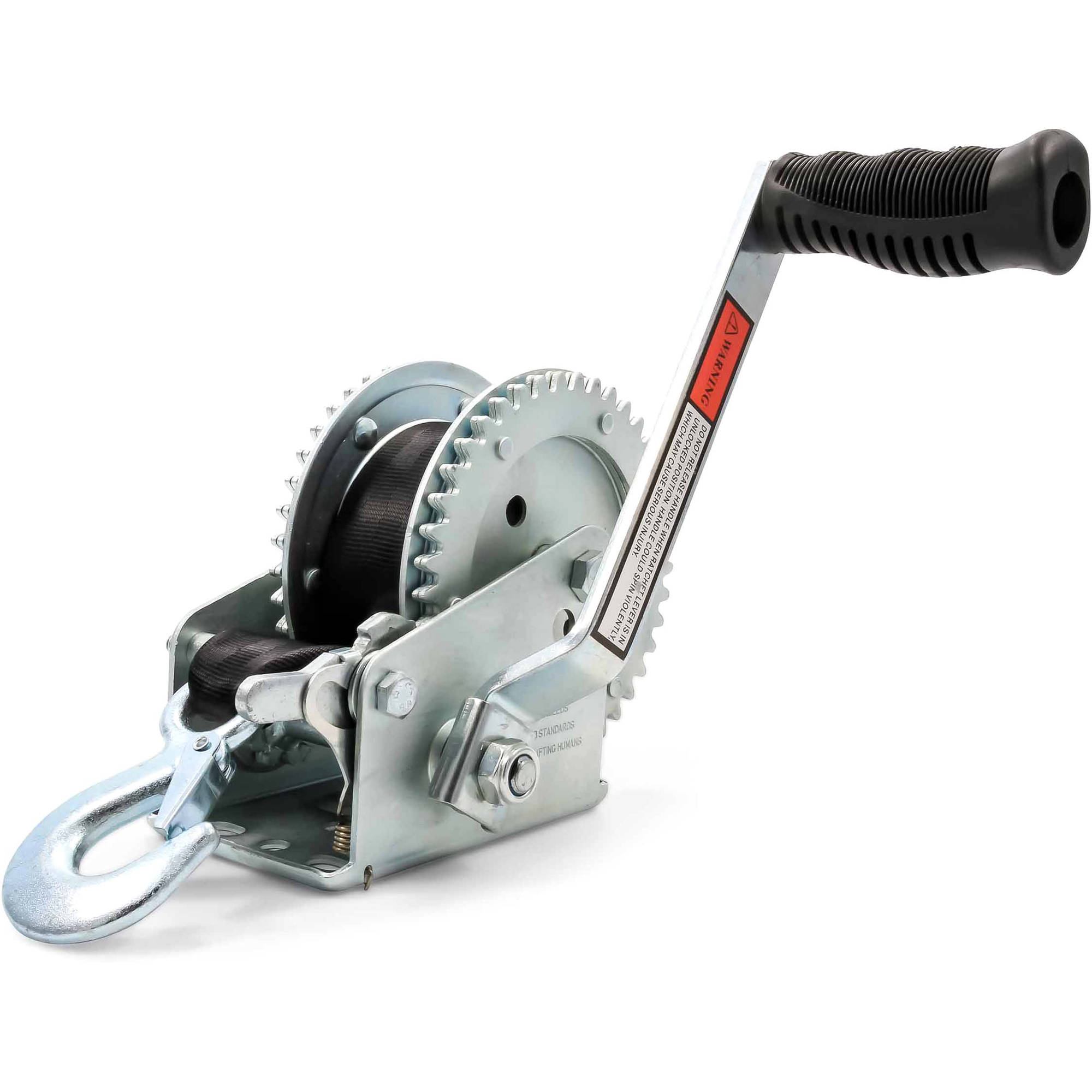 Camco 50000 Winch 2,000 lb With 20 Strap