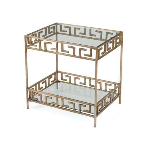 Hip Vintage Tetris Side Table