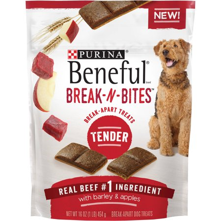 Purina Beneful Break-N-Bites Tender Real Beef with Barley &