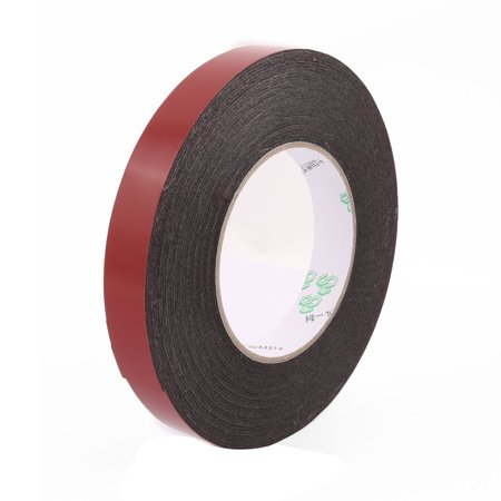 Unique Bargains 15mmx1mm Double Sided Sponge Tape Adhesive Sticker Foam Glue Strip Sealing 10M - image 3 of 3