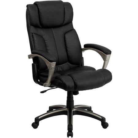 flash furniture high back folding leather executive office chair