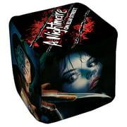 Nightmare On Elm Street Freddy Poster Cube(Ottoman) White 18X18X18