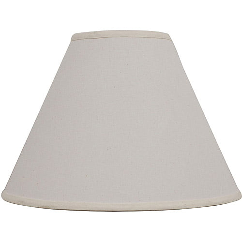 Better Homes Gardens Linen Empire Table Lamp Shade Beige Walmart Com Walmart Com
