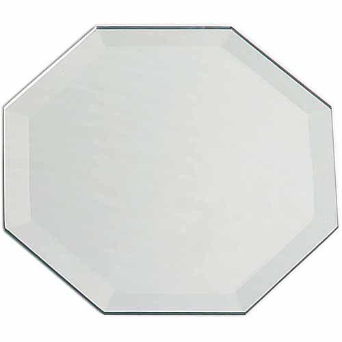 "Darice Octagon Bevel Mirror, 12"" x 18"""