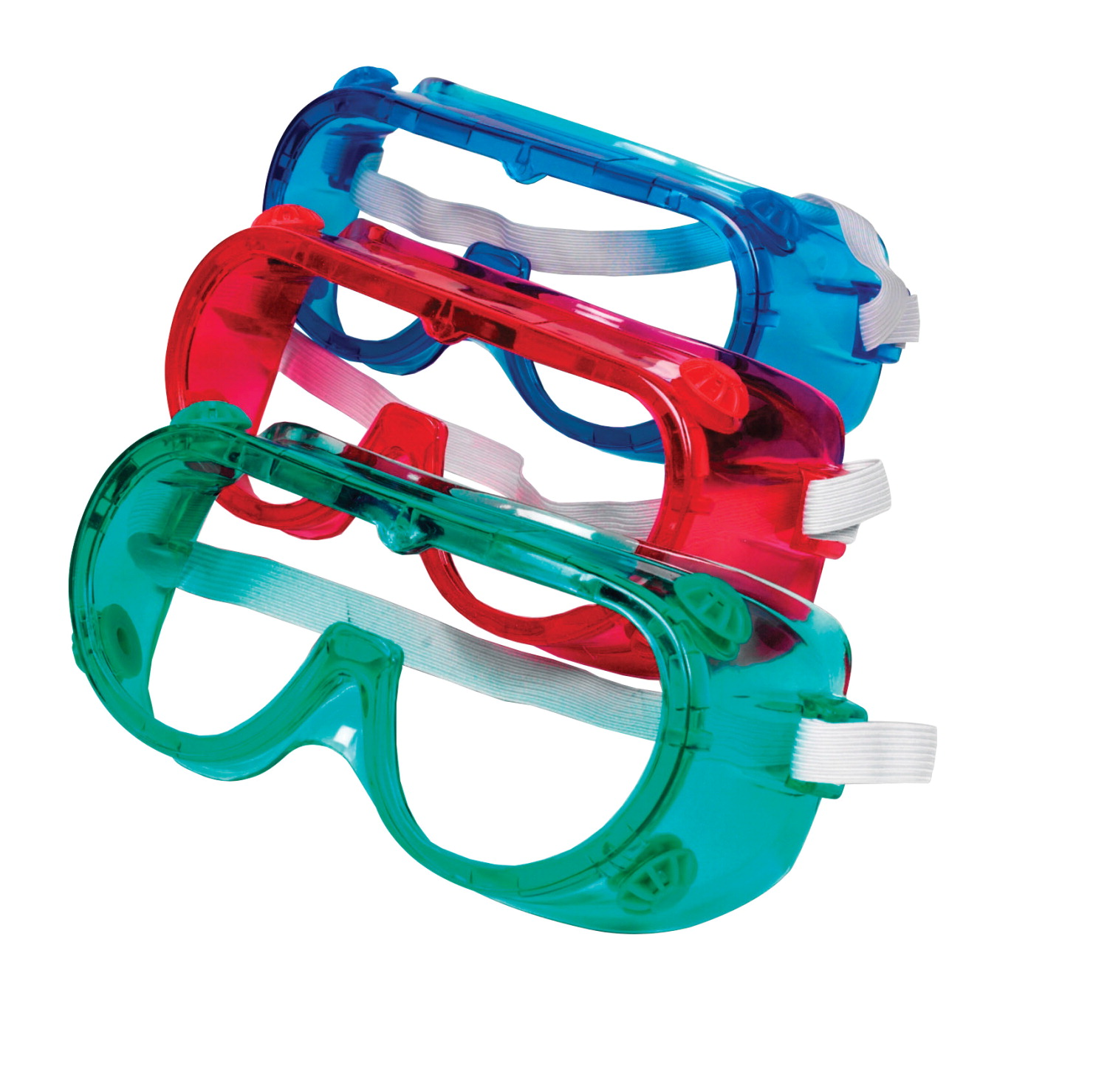 Learning Resources Colored Safety Goggles, Assorted Colors, Set of 6