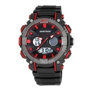 Men's Showcase Casual Watch, Resin Band