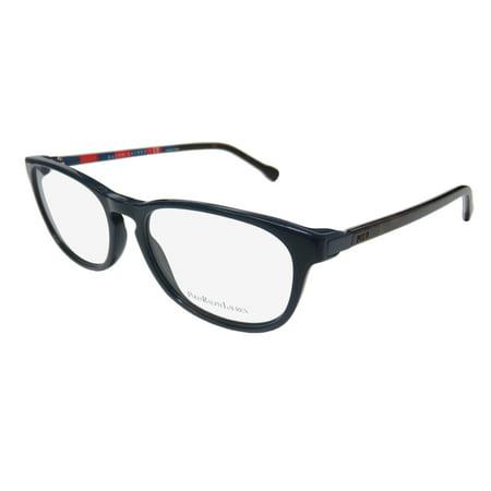 New Polo Ralph Lauren 2112 Mens/Womens Designer Full-Rim Navy / Tortoise Simple & Elegant Durable Sleek Frame Demo Lenses 55-17-145 (Polo Glasses For Men)