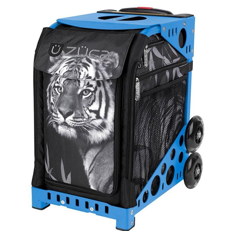 Zuca Tiger Insert Bag w/ Sport Frame (Black / Plain Wheels)