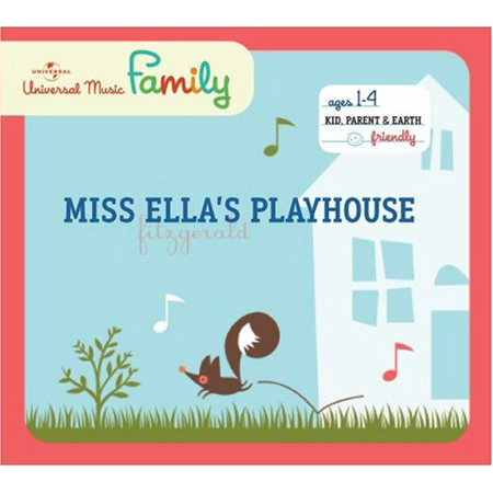 Miss Ella's Playhouse (CD) (Plays House Music)