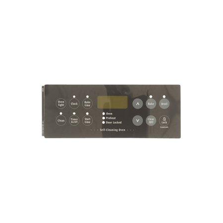 316419300 Frigidaire Range Overlay Clock Blk