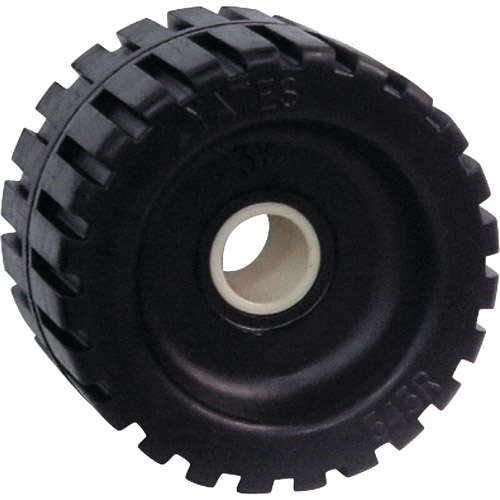 Seachoice Black Rubber Ribbed Roller, 4-3/8""