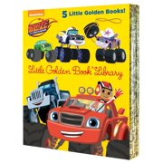 Blaze and the Monster Machines Little Golden Book Library (Blaze and the Monster Machines) by Random House Children's Books