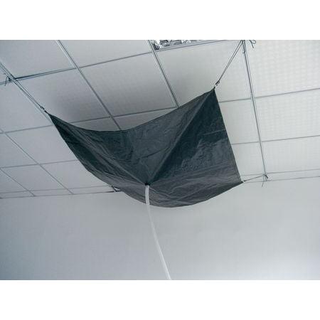 Roof Leak Diverter, 10 ft., Black ZORO SELECT 42X291