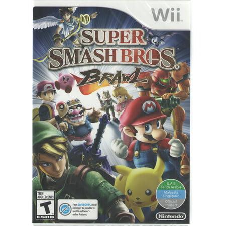Super Smash Bros. Brawl - Nintendo Wii (Wii Mario Smash Bros)
