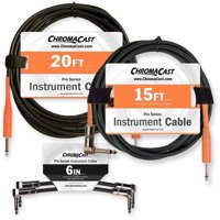 """ChromaCast Stage Ready Cable Pack with 15/20' Cable and 6"""" Patch Cable"""