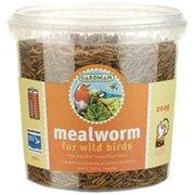 Gardman BA04513 Mealworm Tub Medium, 7 oz. (200 gram)