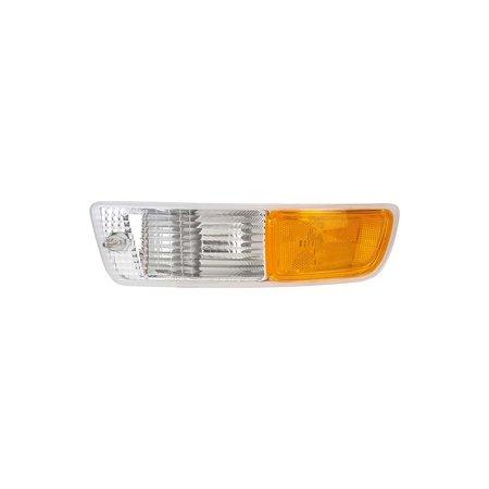 Dorman 1631387 Turn Signal Light For Toyota RAV4, Clear & Amber Lens lens