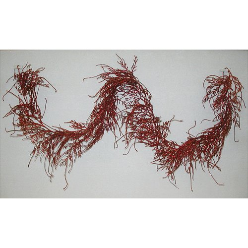 Admired by Nature 6' Glitter Cypress Garland