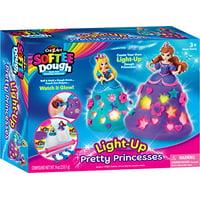 Cra Z Art Softee Dough Lite up Princesses Kit (13 Piece)