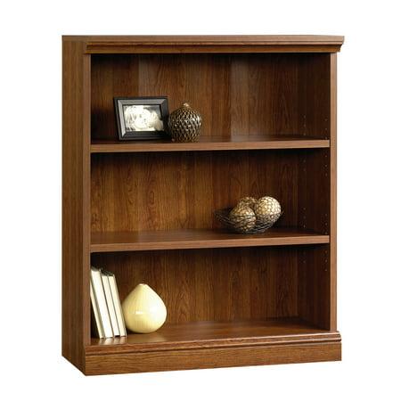 Cherry Double Plank (Sauder Camden County 3-Shelf Bookcase, Planked Cherry)