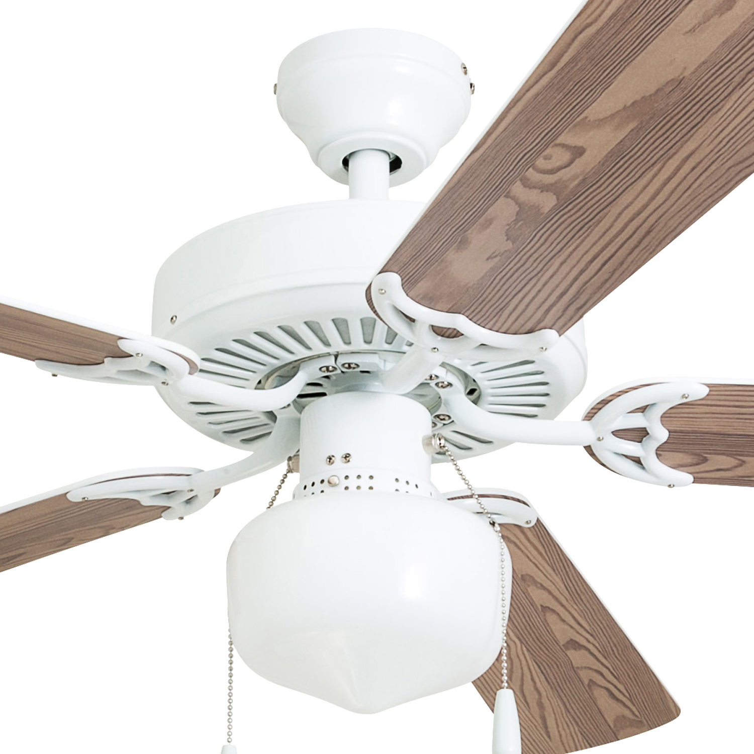 52 Quot Mainstays Ceiling Fan With Globe Light Perfect For