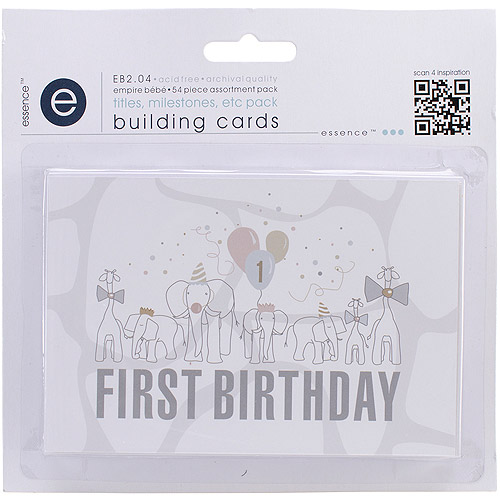 Empire Bebe Building Cards, 54pk, Titles and Timelines