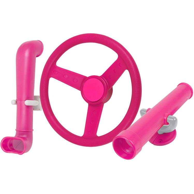 Swing Set Stuff Inc. Periscope Telescope Steering Wheel Kit (Pink)