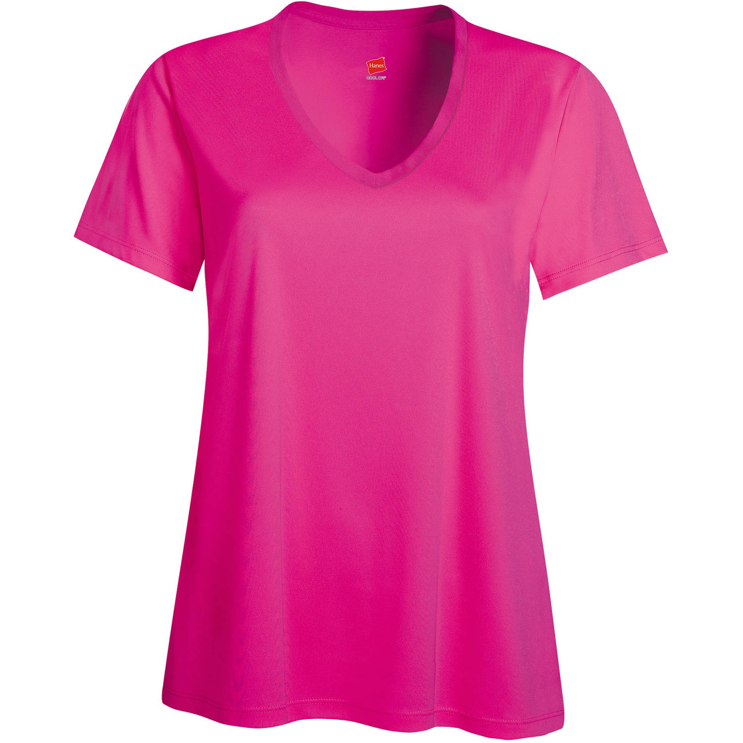 Hanes Sport Women's Cool DRI Performance V-neck T-Shirt (50+ UPF)