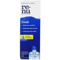 Bausch & Lomb ReNu Multi-Purpose Solution with Hydranate, 4 Ounce Bottle []