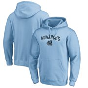Old Dominion Monarchs Fanatics Branded Proud Mascot Pullover Hoodie - Light Blue