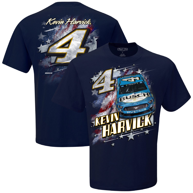Kevin Harvick Stewart-Haas Racing Team Collection Patriotic T-Shirt - Navy