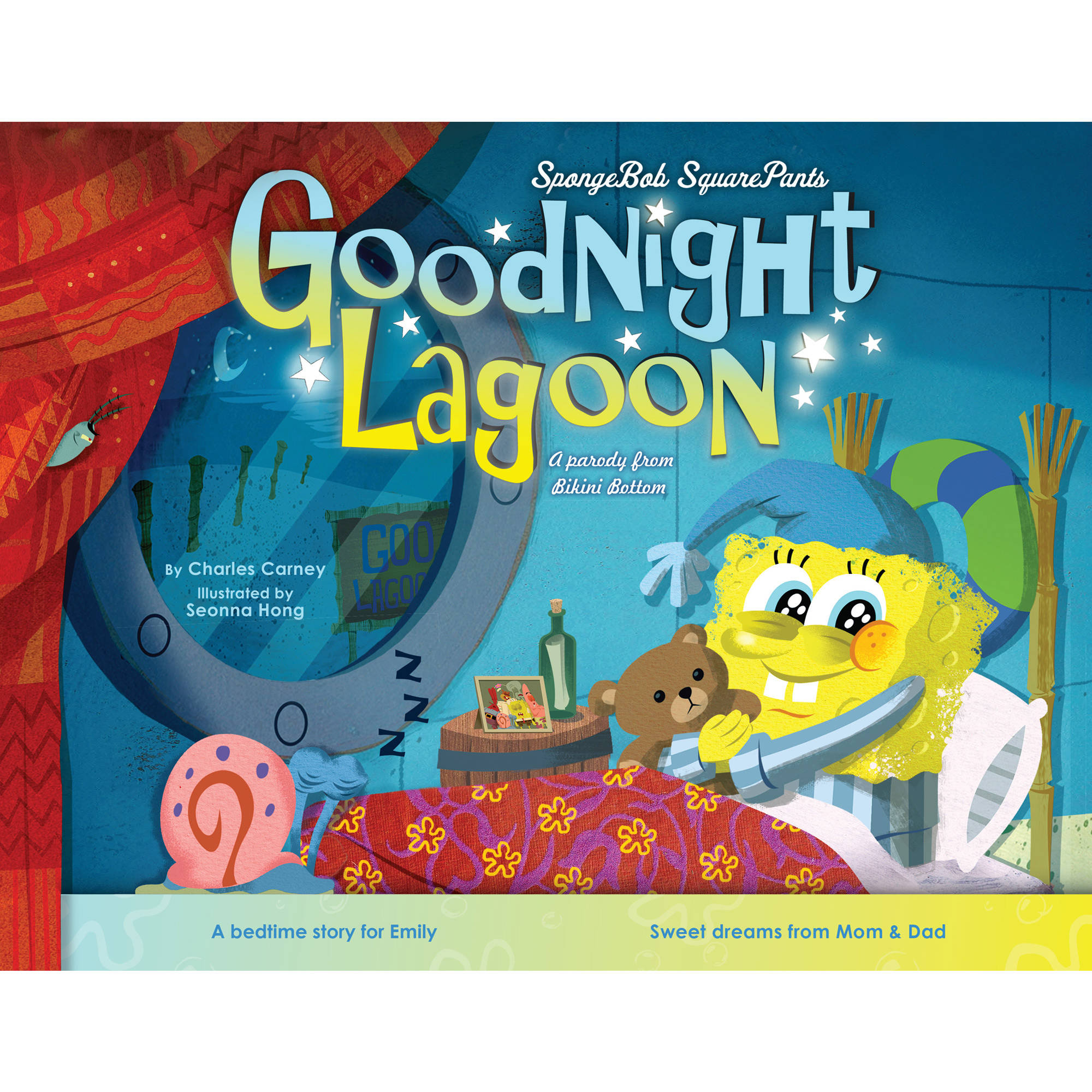 Personalized Book - SpongeBob SquarePants: Goodnight Lagoon
