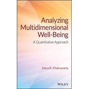 Analyzing Multidimensional Well-Being: A Quantitative Approach (Hardcover)