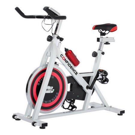 Confidence Fitness Magnetic Adjustable Flywheel Pro Exercise Gym Bike V2