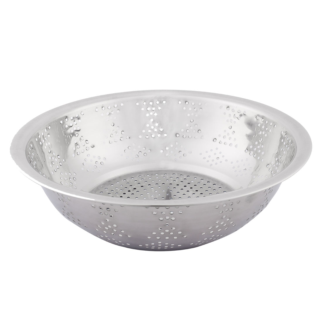 Click here to buy Hosehold Metal Vegetable Fruit Rice Washing Sieve Strainer Colander 17cm Dia.