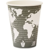 Eco-Products, ECOEPBHC12WA, World Art Hot Beverage Cups, 1000 / Carton, Multi