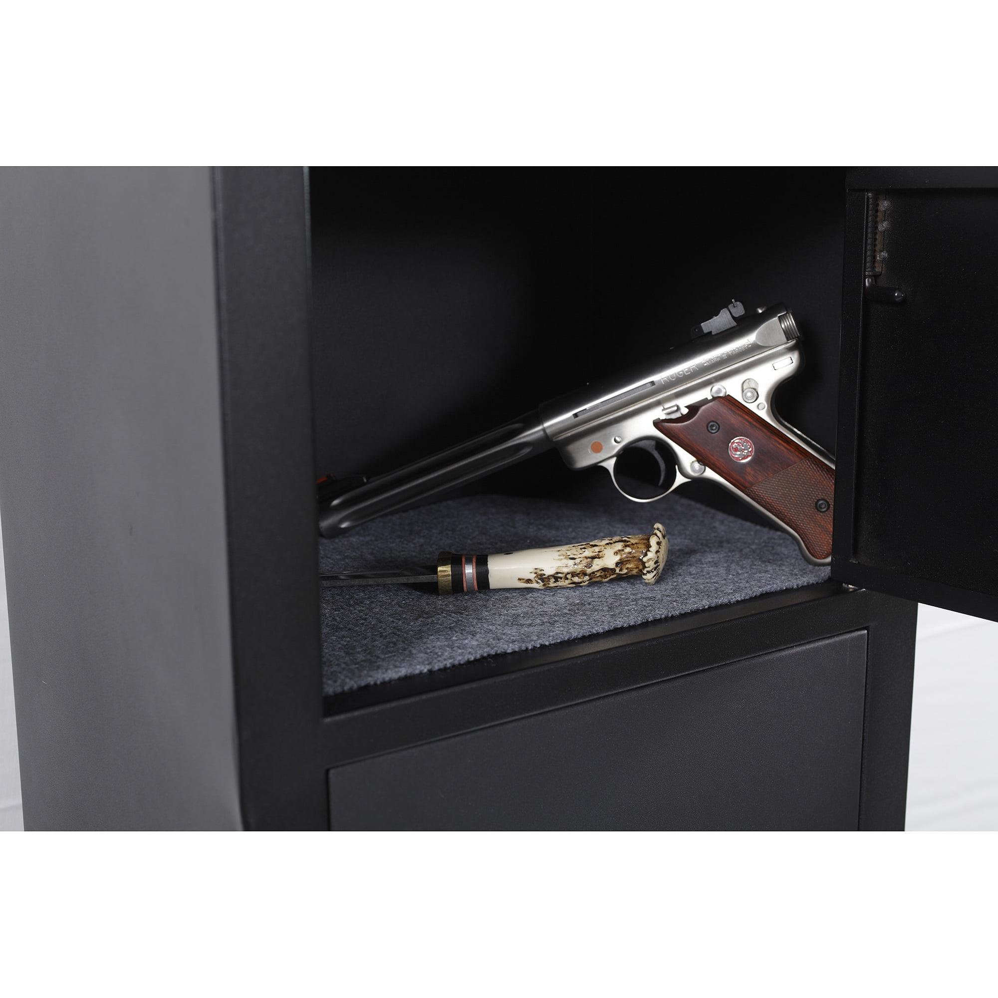 gun com classics cabinets metal separate security pistol with walmart furniture ip cabinet ammo area storage american