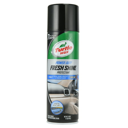 Turtle Wax 50772 Power Out Fresh Shine Protectant, 18.