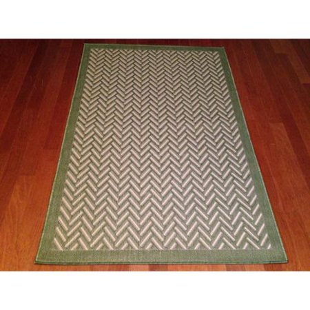 Art Carpet Woven Green/ Beige Indoor/ Outdoor Area Rug (3 ... - photo#43
