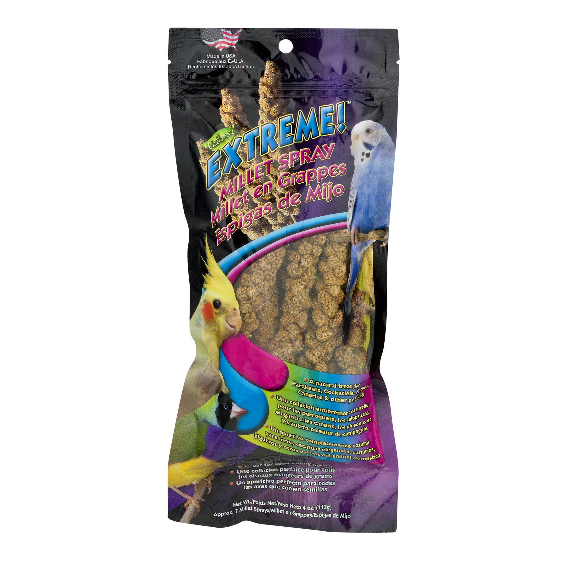 (2 Pack) Extreme! Millet Spray Bird Treat, 1.0 CT