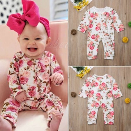 Cute Kid Outfits (Newborn Baby Kids Boys Girls Cute Romper Jumpsuit Bodysuit Cotton Outfit Set)