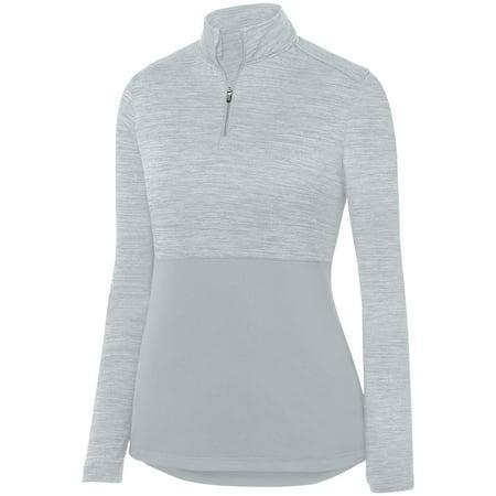 Augusta Sportswear Women's Shadow Tonal Heather 1/4 Zip Pullover 2909 ()